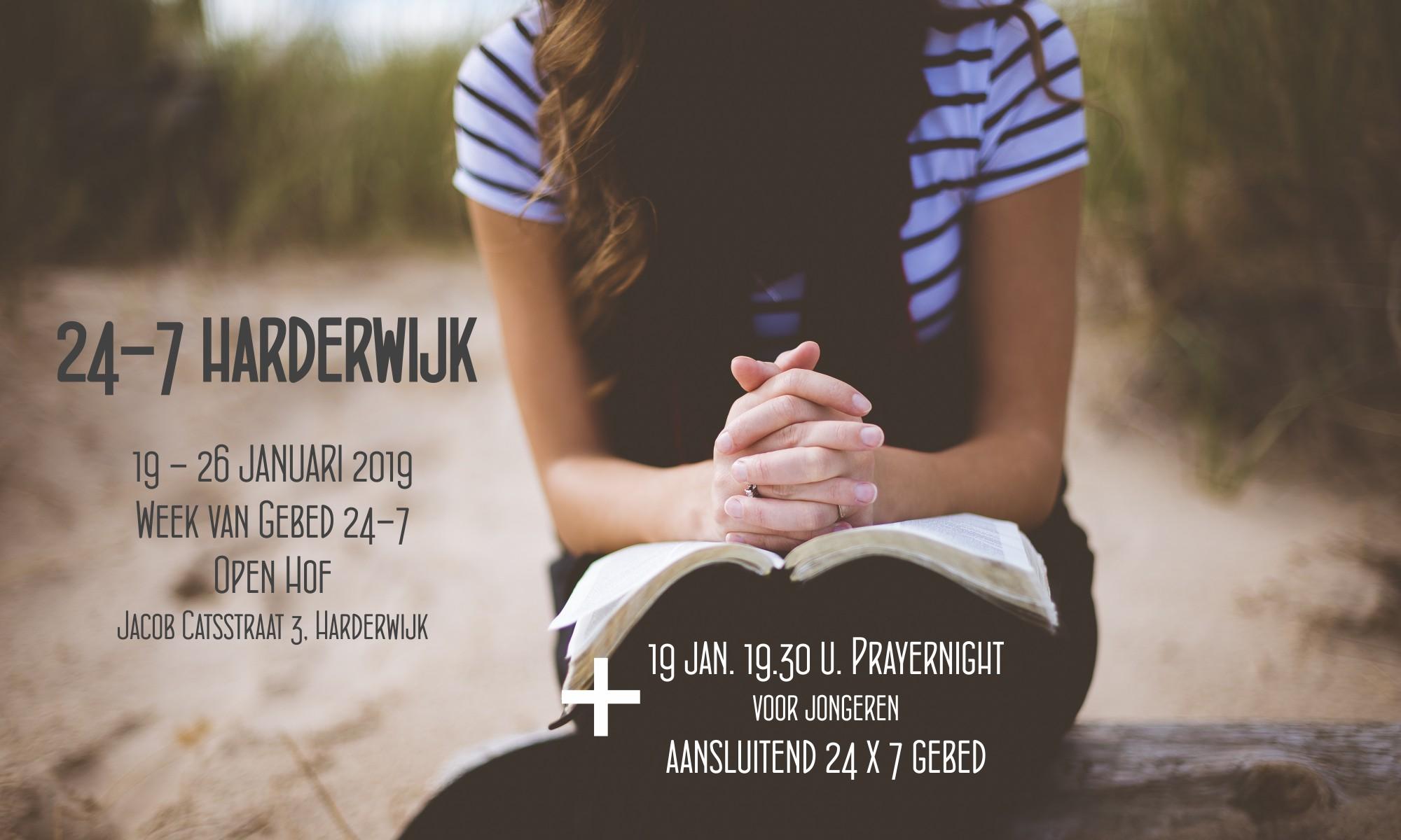 Week Van Gebed Harderwijk 24 7 Gebed Harderwijk
